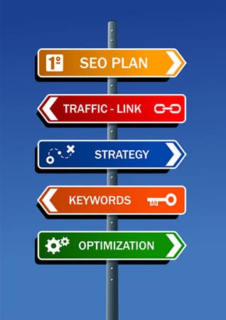 SEO sign image