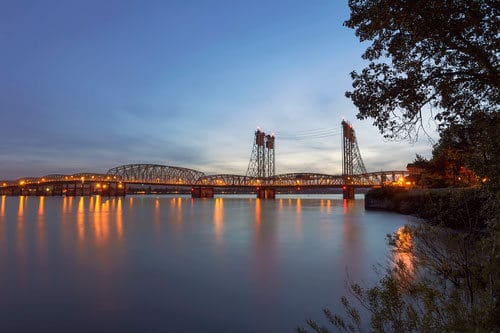 Columbia River at Vancouver Washington