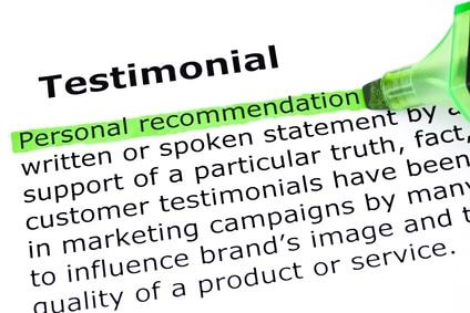 Testimonial Definition Image