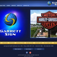 Garrett Sign