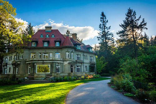 Pittock Mansion in Portland image