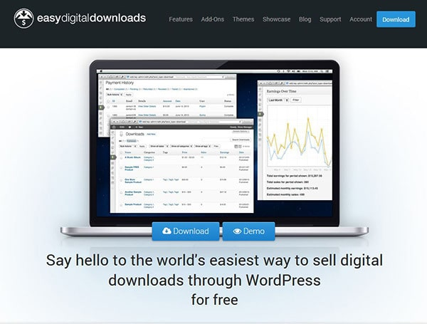 Digital Ecommerce Solution for WordPress