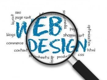 Web Design magnify Image